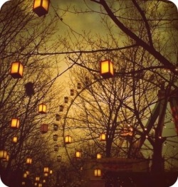 autumn, carnival, faded, fair, farris wheel, ferris wheel - inspiring picture on Favim.com on We Heart It. http://weheartit.com/entry/10510718
