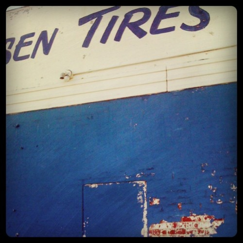 Old school auto shop. (Taken by 50mmcaroline with Instagram at Classen Tire)