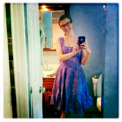 frockabilly:  thereswimsaswan:  My beautiful new dress from Nathan. He is so sweet. I love this dress and I never want to take it off!  Lila in a Frockabilly original :) It was a gift from her boyfriend.I wish I had a guy who secretly ordered offshore online clothing for me…