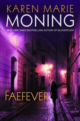 Faefever by Karen Marie Moning Okay I am really over paranormal romance series whose titles are all completely indistinguishable. Seriously. I'm going to give you a few examples. Kresley Cole (we've covered this, I know) No Rest for the WickedWicked Deeds on a Winter's NightDark Needs at Night's EdgeDark Desires After Duskalthough her later books are more distinguishable, like LOTHAIRE. Ilona Andrews Magic BitesMagic BurnsMagic StrikesMagic BleedsMagic Slays  Jeaniene Frost Halfway to the GraveOne Foot in the GraveDestined for an Early GraveAt Grave's EndThis Side of the Grave Nicole Peeler  Tempest RisingTracking the TempestTempest's LegacyEye of the TempestTempest's Fury Larissa Ione Pleasure UnboundDesire UnchainedPassion UnleashedEcstasy UnveiledSin Undone (Okay, this was helpful because the main character's name was Sin) I CANNOT TELL THE DIFFERENCE BETWEEN ALL OF THESE BOOKS WON'T YOU PLEASE PLEASE GIVE ME SOME CLUES. Gail Carriger's Parasol Protectorate series has titles that manage to be both repetitive AND give clues as to the plot (Soulless, Changeless, Blameless, etc. Heartless was getting a bit into the mysterious territory, but we have a good track record). Zoe Archer's titles are descriptive of the main dudes (i.e. Scoundrel and Warrior). And here is where I have gone completely off the rails because I meant to talk about this book. Ahem. Faefever, by Karen Marie Moning, the Part Where I Review It Series is still going strong, although the ENDLESS! VIOLENCE! is sort of wearying and repetitive, to the point where I don't even want to jump into the next book even though it was a major cliffhanger. Can I just have something CHEERFUL? God. It's all rain and blood and The Dark Side of Mac and there was NO BARRONSEX and I'm disappointed but not surprised thanks to some helpful spoilers. I like that Mac is resourceful enough not to trust anybody completely, and I still think she's a great character and enough fun that I don't mind the first-person perspective. Uh, that's really all I have to say.