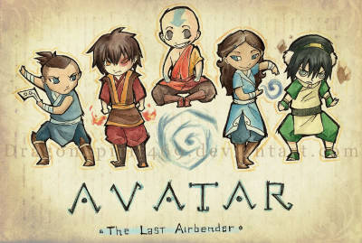 lemur-bat:  Team Avatar!