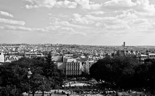 View over Paris. Such an amazing town.