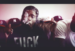 Still from ASAP Rocky - Purple Swag video