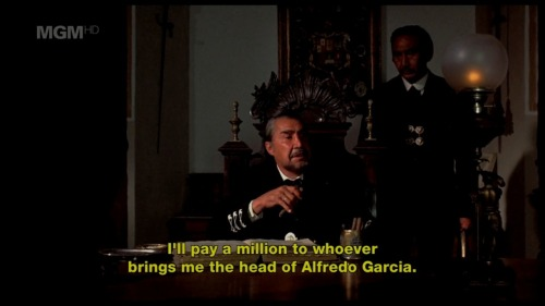 Bring Me the Head of Alfredo García/Peckinpah/1974