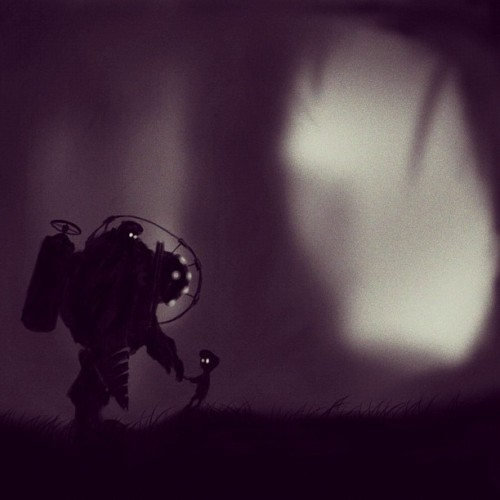 LIMBO/BIOSHOCK (Taken with instagram)
