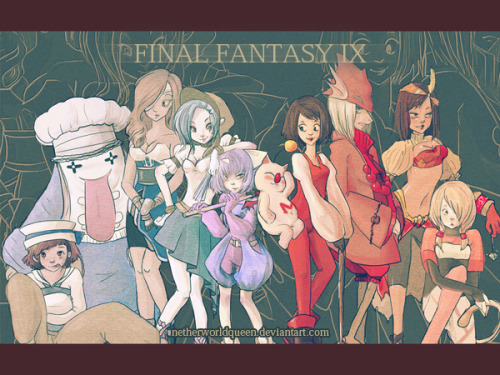 The Girls of FFIX