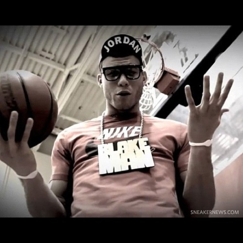 timmyvuitton:  The Blake Man! #Clippers #NBA #Nike. Spike Lee Joint  (Taken with instagram)