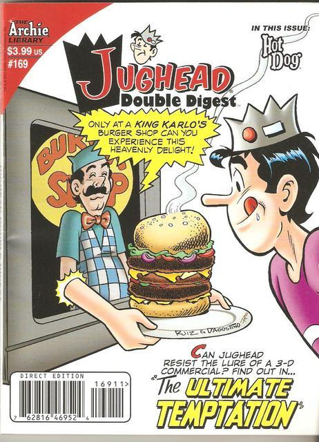 Jughead about to betray Pop Tate's