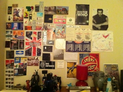 My wonderful wall collage :) Can you find The Doctor?