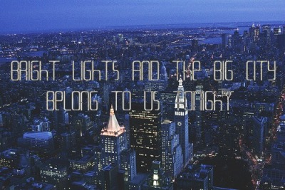 Bright Lights Bigger City- Cee Lo Green :)