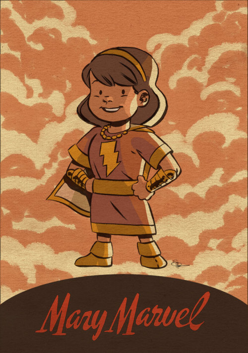 Li'l Mary Marvel by Evan Shaner
