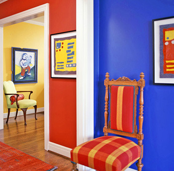 Colorful room.
