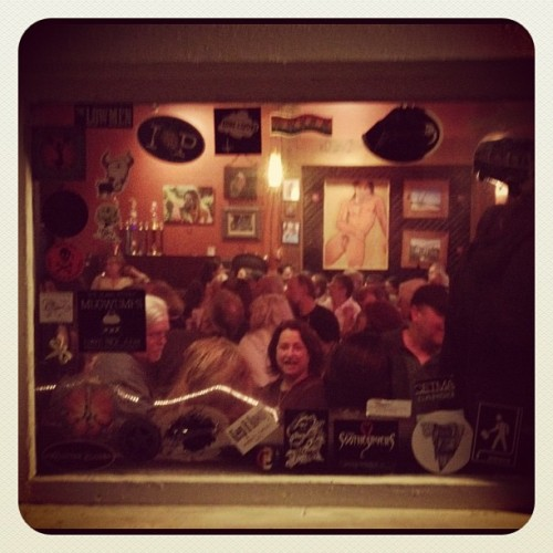 John Prine Sing-a-Long Night, Sam Bond's Garage.  (Taken with Instagram at Sam Bond's Garage)