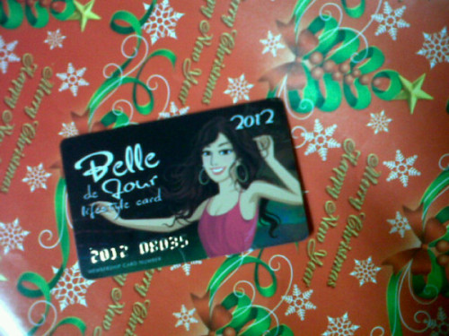 Day 361/365: Yay for my BDJ card!! Bongga!! ☺ Certified BDJ girl :p