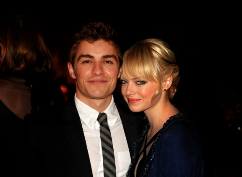 Dave Franco and Emma Stone.