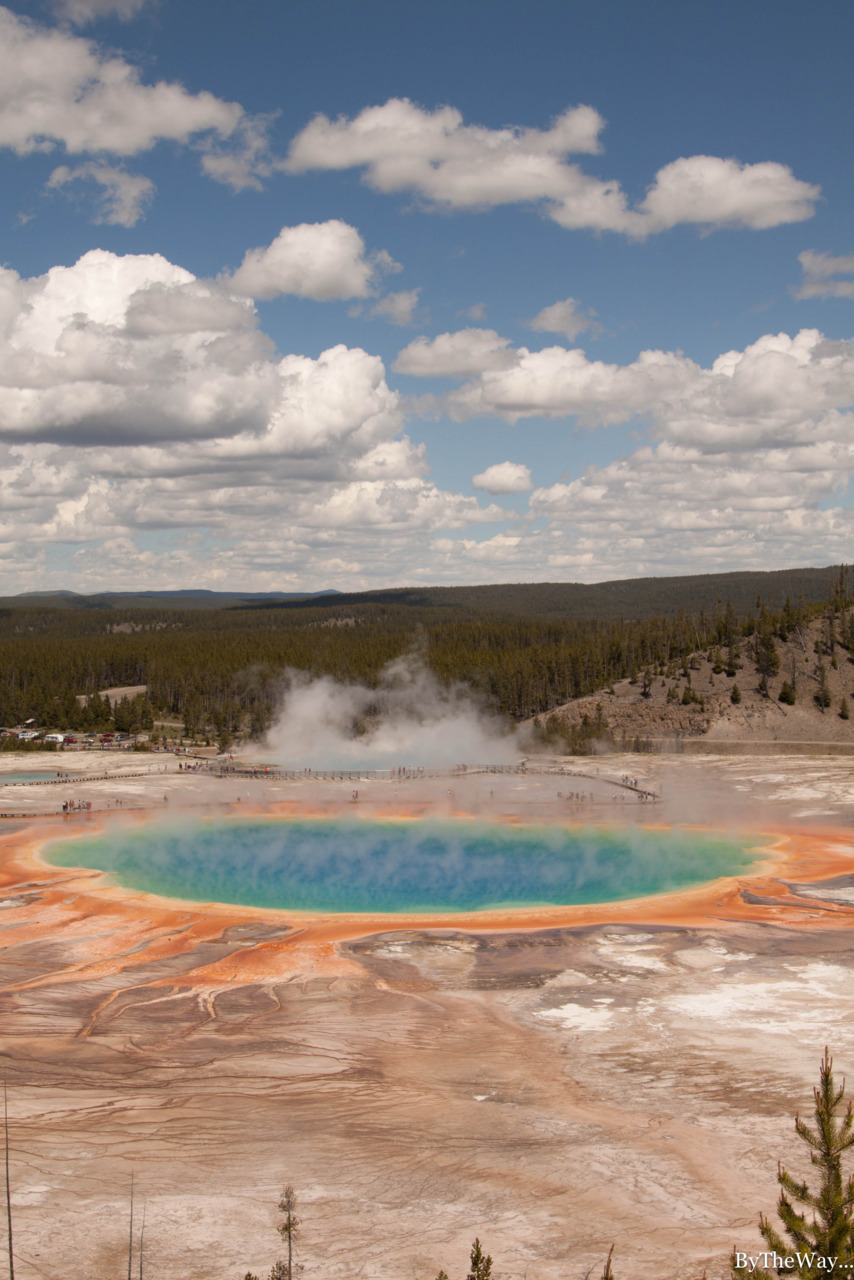 Grand Prismatic Spring - Yellowstone National Park, USA