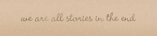 iggymogo:  we are all stories…