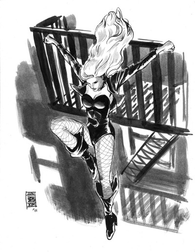 thehappysorceress:  Black Canary by JunBob Kim