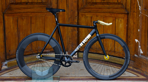 Cinelli Mash - Golden Leaf by Bicycle Store Paris