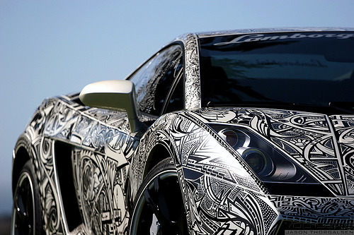 automotivated:  Sharpie Lamborghini Gallardo 17.jpg (by VOD Cars)