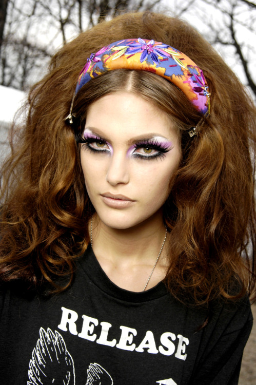 Backstage @ Christian Dior - Fall/Winter 2008