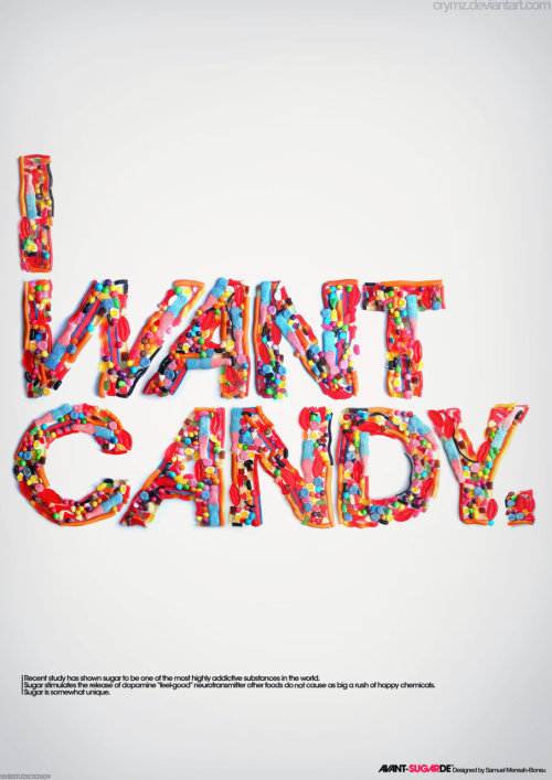 designcloud:  AVANT-SUGARDE by Samuel Mensah-Bonsu See full alphabet here.