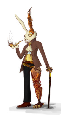 doctormonocle:  steampunk mr. bunny