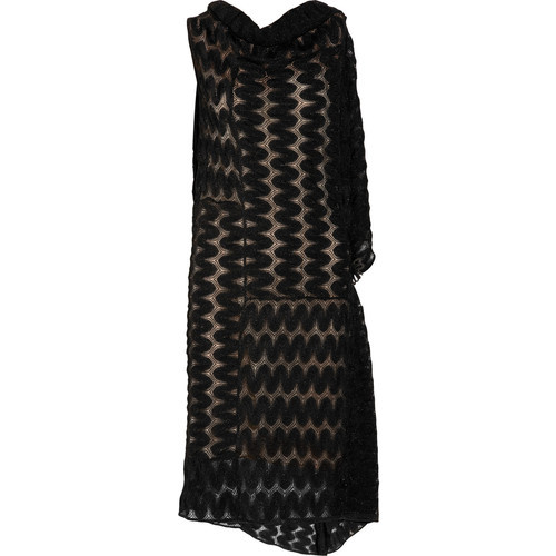 Missoni dress   (see more crochet knit dresses)