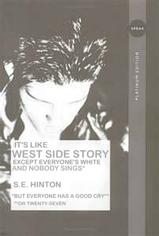 S.E. Hinton: The Outsiders Reader Submission: Title and Redesign by Megan Linger