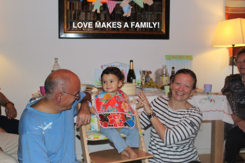 Love has made my family!
