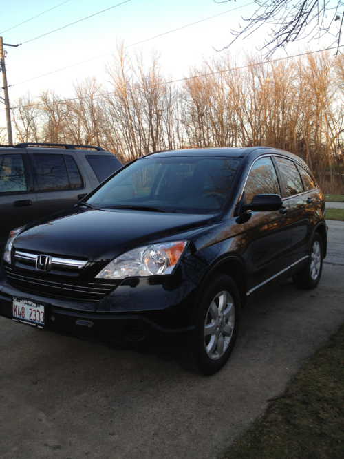 did I mention we got a new car? cuz we did! go honda!!