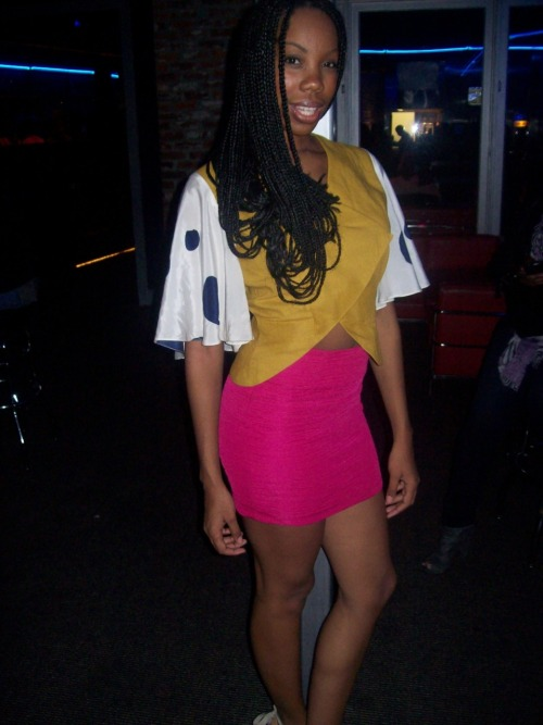 Top from Delmonicole. http://www.delmonicole.com Skirt from H&M