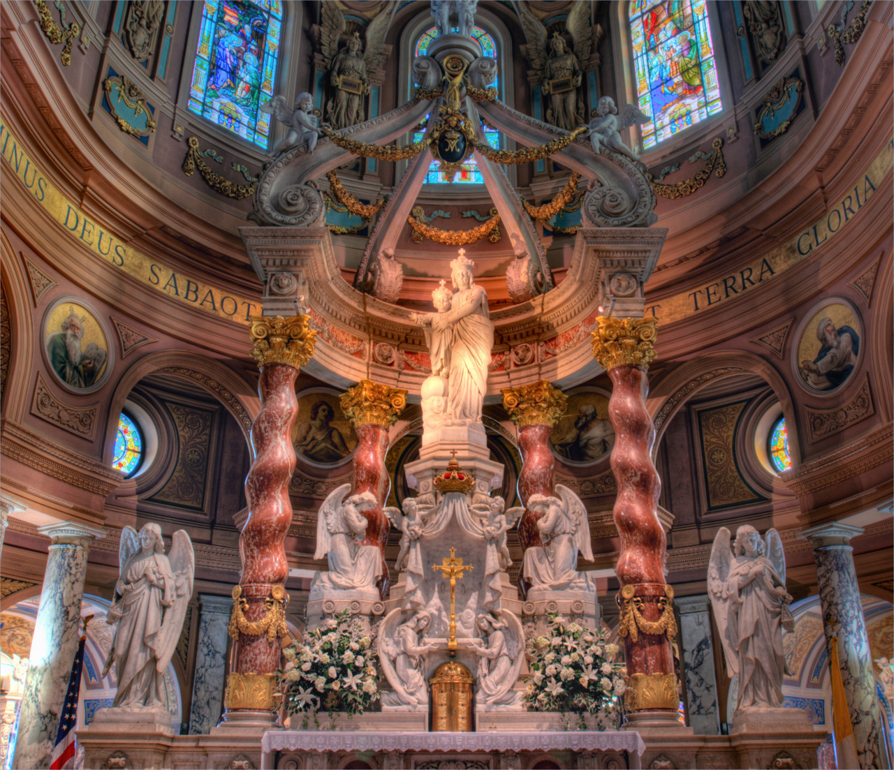 High Altar of Our Lady of Victory Basilica Buffalo, NY