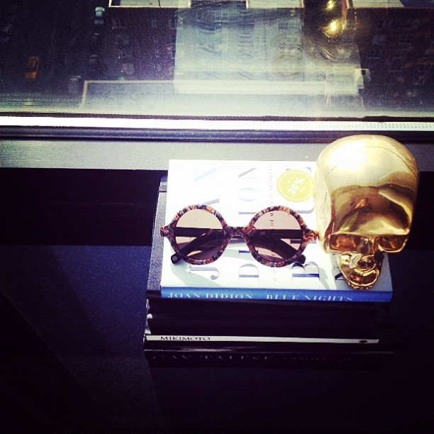 Yup, I'm obsessed. themanrepeller:  Suno x @warbyparker. (Taken with instagram)