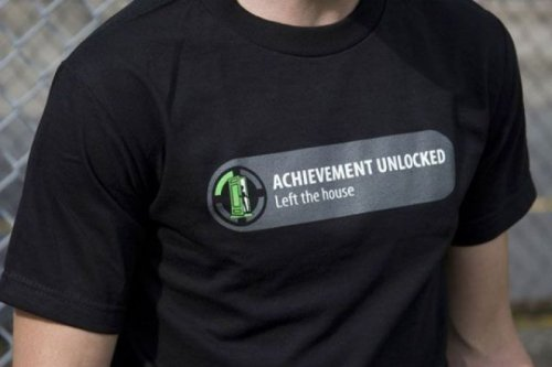 collegehumor:  Honest X-Box Achievement But only to buy a new game.