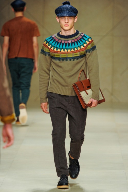Christopher Bailey for Burberry Prorsum Menswear Spring/Summer 2012, Vogue.it.