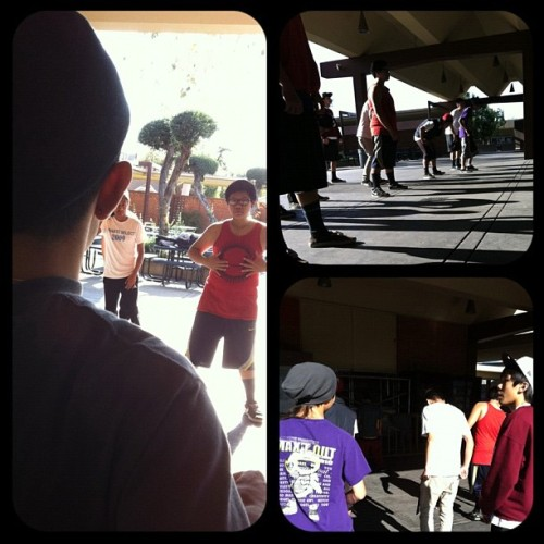 mrjtsir:  Doing work with Alhambra All Male with my bro Anthony Martinez. Just like old times (Taken with instagram)