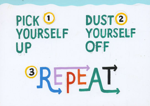 fit-and-healthy-for-tomorrow:     Just try and get up, you've got to slowly brush off. I know that words aren't enough, but you're better than this