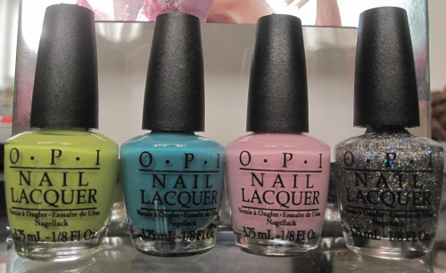Finally got my hands on some polishes from OPI's Nicki Minaj collection. For swatches and reviews, click here!