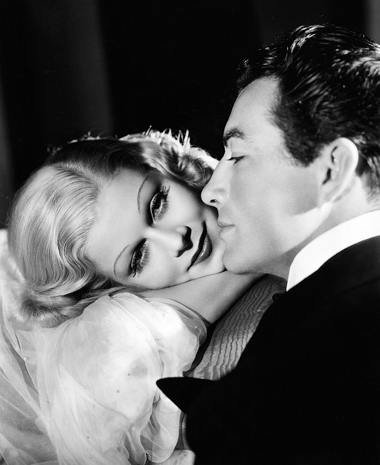lucynic83:  Jean Harlow and Robert Taylor photographed by Ted Allan for Personal Property, 1937