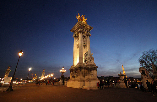 Paris - Le pont Alexandre  (by jmboyer)