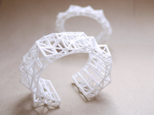 Faceted Cuff by Alia of Archetype Z Studio