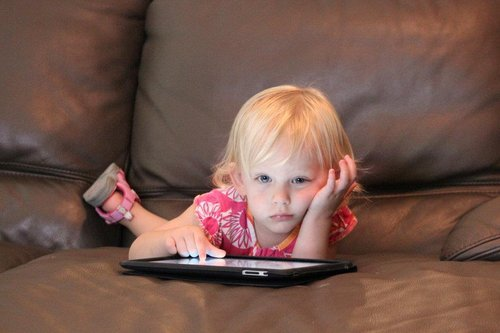 "babieswithipads:  ""Hey Zuckerberg, you've had more 'new' Facebook layouts than I've had birthdays. Chill out. Love, Kayla.""  This is a very cute blog, but it's kind of bizarre. Thought this expression was fitting."
