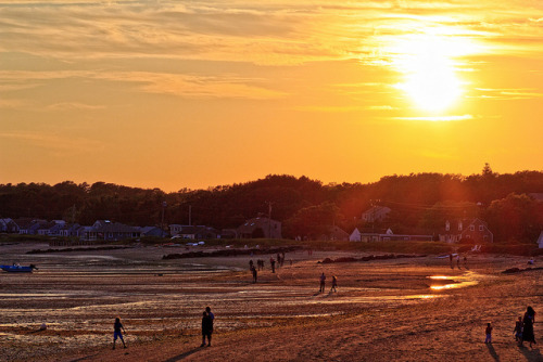 Sunset from Wellfleet Pier by Samantha Decker on Flickr.