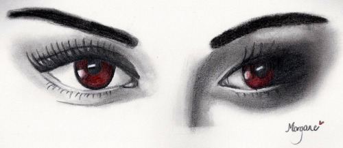 Bella's eyes by Morgane
