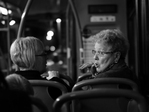 Bus nans. Nottingham, 28/12/2011.