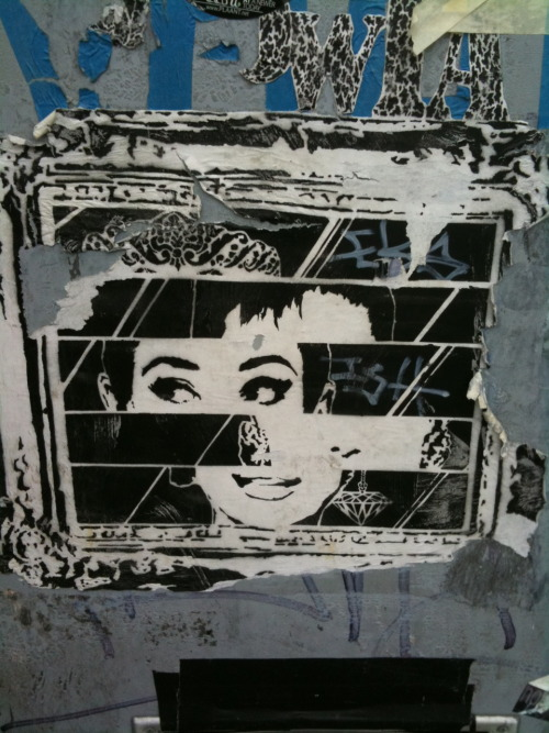 Audrey Hepburn by Artist Unknown Brooklyn