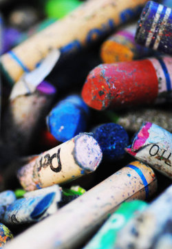 """we could learn a lot from crayons: some are sharp, some are pretty, some are dull, while others are bright, some have weird names, but we have to learn to live in the same box.""  -anonymous"