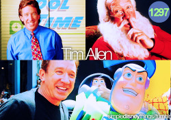 simpledisneythings:  Tim Allen has been with Disney for years as Santa Clause, a Tool Man, and a Space Ranger. And in the future, a possible skipper with Tom Hanks in the new Jungle Cruise Movie.