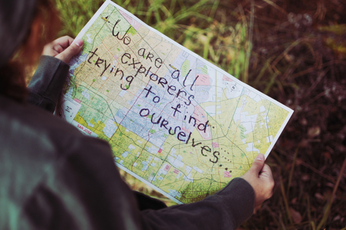 We are all explorers…(not internet explorers hopefully) :P